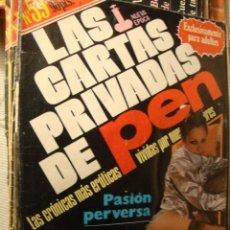 Revistas: REVISTA EROTICA LAS CARTAS PRIVADAS DE PEN. Lote 40090901