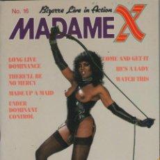 Revistas: MADAME X # 16 / 80'S ~ REVISTA ALEMANIA ~VERLAG TERESA ORLOWSKI~SADOMASOQUISMO, DOMINACIÓN, TRAVESTI. Lote 40929133