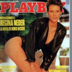 Revistas: PLAYBOY Nº 111. 1988. REGINA NEDER.. Lote 222156676