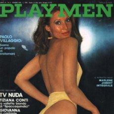Revistas: REVISTA PLAYMEN ITALIA / DOMINIQUE DAREL, MARLENE JOBERT, MANDINGO PELICULA, TEATRO GAY Y +++. Lote 41326938
