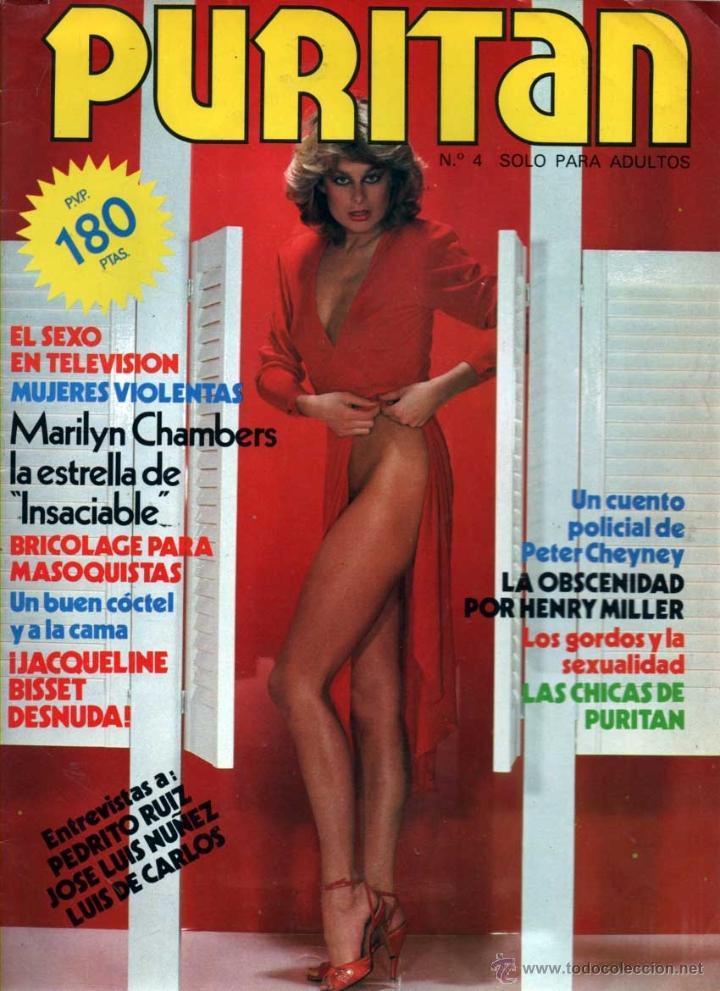 Puritan Nº 4 Revista Erotica Jacqueline Bisset Desnuda Marilyn Chambers
