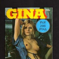 Revistas: REVISTA GINA. AÑOS 70. Lote 270900633