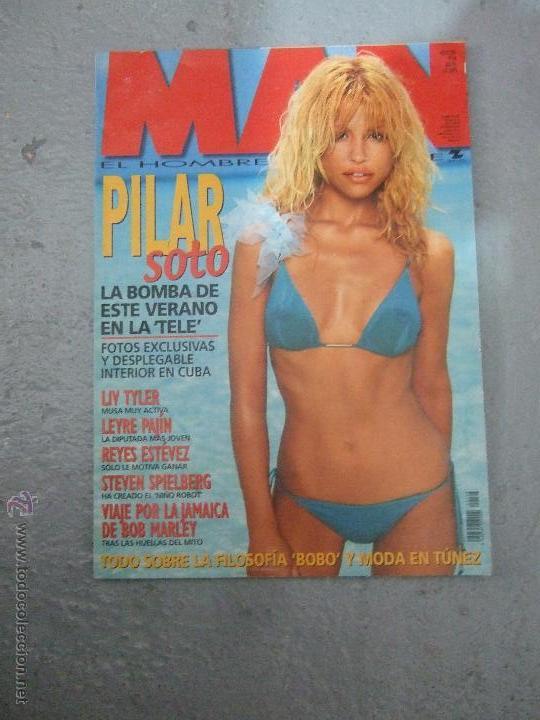 Revista Man Nº 166 Agosto 2001 Pilar Soto