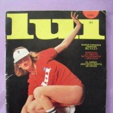 Revistas: REVISTA LUI. AÑO 1, Nº 3. 1976.. Lote 43612162