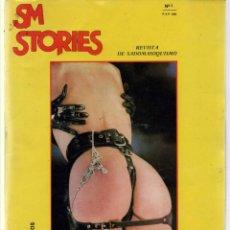 Revistas: SM STORIES Nº 3 ADULTS ONLY BDSM REVISTA SADOMASOQUISMO. Lote 262479865