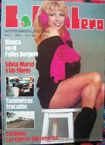Revista Lib Caballero 7 Silvia Marso Bianca Pia Zadora Amelia Morini Y