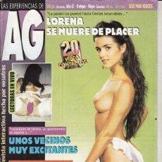 Revistas: REVISTA PORNO AG Nº 55. LORENA SE MUERE DE PLACER., UNOS VECINOS MUY EXCITANTES. GRITOS DE PLACER. F. Lote 45799271