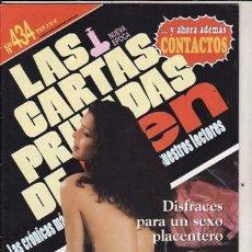 Revistas: REVISTA PORNO Nº 484. NECESITO QUE ME CALIENTEN. DISFRACES PARA UN SEXO PLACENTERO.. Lote 45800057