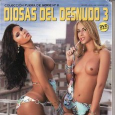 Revistas: REVISTA PORNO DIOSAS DEL DESNUDO 3 Nº 8. THARA Y SUZANNY. . Lote 45818091