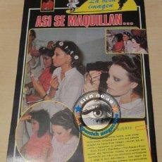 Revistas: REVISTA ERÓTICA CLIMA # AÑO 1982 ~ ELSA BAEZA Y ROCIO DURCAL ASI SE MAQUILLAN... ~ MUY RARA. Lote 45837490