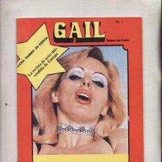 Revistas: REVISTA PORNO GAIL SUPER DE LUXE Nº 1. . Lote 46022838