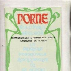 Revistas: REVISTA PORNO PORME Nº 4. LA PRIMERA FOTONOVELA INTERNACIONAL EN SU GENERO.. Lote 46022977