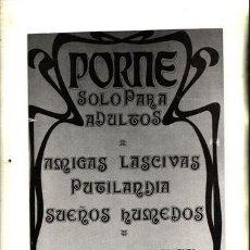 Revistas: REVISTA PORNO PORME Nº 1. AMIGAS LASCIVAS PUGILARDIA SUEÑOS HUMEDOS.. Lote 46023001