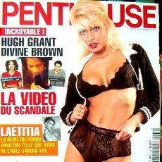Revistas: REVISTA PENTHOUSE FRANCIA / LEA MARTINI, DIVINE BROWN, ANITA DARK, REBECCA LORDS Y +++. Lote 46027093