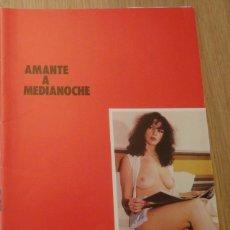 Revistas: REVISTA DE PORNO ESPAÑOL ~ AMANTE DE MEDIANOCHE Nº 1 ~ 70'S. Lote 46299381