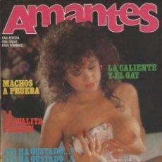 Magazines: AMANTES # 71 ~ REVISTA ERÓTICA PORNO MUY ILUSTRADA. Lote 46721555
