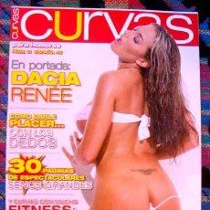 Revistas: REVISTA CURVAS PARA HOMBRES Nº 11 / PECHOS GRANDES, DACIA RENEE, JENNIFER PRINCIPE Y ++++ CHICAS. Lote 46744152