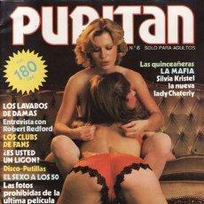 Revistas: REVISTA PURITAN (PORNO) Nº 6.. Lote 181194348