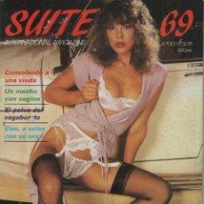 Revistas: SUITE 69 # 1 / 1984 ~ REVISTA PORNO MUY ILUSTRADA ~ MICHELLE BAUER. Lote 47312927