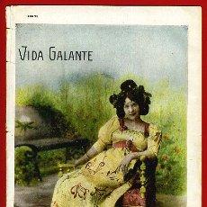 Revistas: ANTIGUA REVISTA EROTICA Y DE HUMOR , VIDA GALANTE , Nº 258 ,ORIGINAL ,R1. Lote 47556563