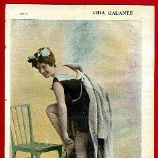 Revistas: ANTIGUA REVISTA EROTICA Y DE HUMOR , VIDA GALANTE , Nº 244 ,ORIGINAL , R17. Lote 47556735