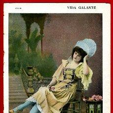 Revistas: ANTIGUA REVISTA EROTICA Y DE HUMOR , VIDA GALANTE , Nº 241 ,ORIGINAL , R29. Lote 47556900