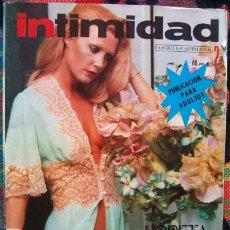 Revistas: REVISTA INTIMIDAD Nº 2 / LORETA TOVAR / EPOCA DEL DESTAPE. Lote 50746180