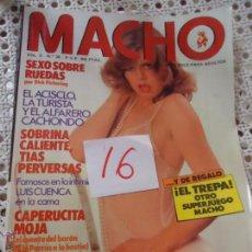 Revistas: ANTIGUA REVISTA EROTICA - MACHO - VOL. 3 N 26. Lote 50889539