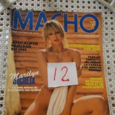 Revistas: ANTIGUA REVISTA EROTICA - MACHO - VOL 1 N 3. Lote 50889612