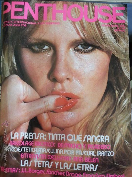 ANTIGUA REVISTA EROTICA 1980 N 32 PENTHOUSE CON POSTER CENTRAL (Coleccionismo para Adultos - Revistas)