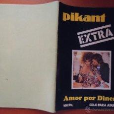 Revistas: ANTIGUA REVISTA PORNO PORNOGRAFICA - EROTICA --PIKANT EXTRA , AMOR POR DINERO1978 - 96 PAGINAS B/N . Lote 50958299