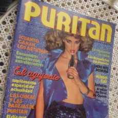 Revistas: REVISTA EROTICA ADULTOS - PURITAN Nº 2 SHERE HITE DESNUDA . MUNDO GAY , ADIOS STEVE MC QUEEN ... Lote 51137395