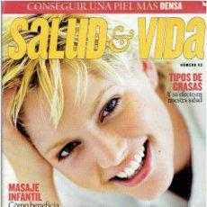 Revistas: REVISTA SALUD VIDA Nº 93. Lote 51141029
