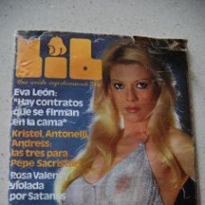 Revistas: REVISTA LIB-NUM.133-AÑO 4 : EVA LEÓN-ROSA VALENTY-LORETA TOVAR-BRIGGITE BARDOT..... Lote 53236219