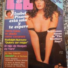 Revistas: REVISTA LIB 225 SUPLEMENTO MARCHA ISABEL PISANO MARIA SALERMO. Lote 53359565