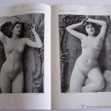 Revistas: PARIS AÑO 1904 * ANTIQUÍSIMA REVISTA DE FOTOGRAFÍAS DE DESNUDOS FEMENINOS. Lote 53405870