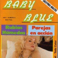Revistas: REVISTA BABY BLUE NÚMERO 3. TODO COLOR 1988. Lote 53505199