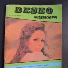 Revistas: REVISTA DESEO INTERNACIONAL Nº 5 - AÑOS 80 - SOLO PARA ADULTOS - PORNO VINTAGE - 64 PAG COLOR. Lote 53722207