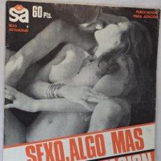 Revistas: PUBLICACIÓN ERÓTICA. SEXO ACTUALIDAD NÚMERO 5 1977. Lote 54094791