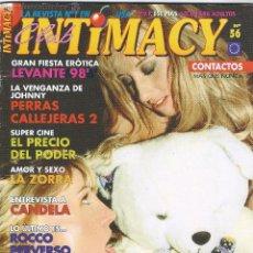 Revistas: INTIMACY - REVISTA EROTICA. Lote 54212379