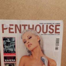 Revistas: PENTHOUSE Nº 316. JULIO 2004. BRIGITTA, FUEGO INTERIOR. ENTREVISTA MIGUEL ÁNGEL JIMÉNEZ.. Lote 54350227