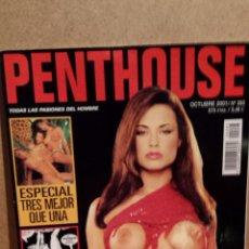 Revistas: PENTHOUSE Nº 283 / OCTUBRE 2001. ALEX, UNA CHICA EXPLOSIVA. ENTREVISTA MATÍAS PRATS.. Lote 54362361