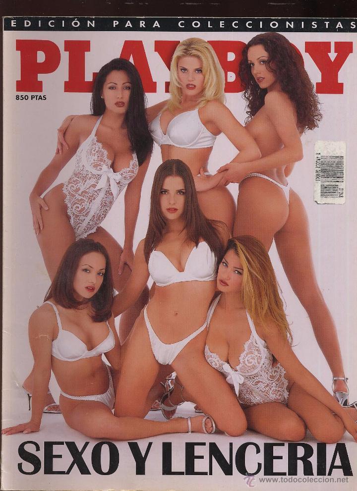 REVISTA PLAYBOY SEXO Y LENCERIA - EDICION PARA COLECCIONISTAS --------(REF M1 E1) (Coleccionismo para Adultos - Revistas)