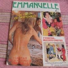 Revistas: REVISTA EMMANUELLE - NUMERO 1 - LAS CHICAS DE HAMBURGO - POSTER CENTRAL. Lote 54968267