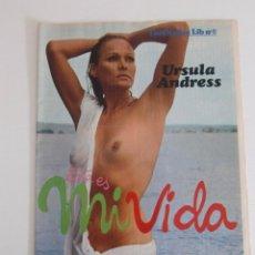 Magazines: SUPLEMENTO ESTA ES MI VIDA / REVISTA EROTICA LIB Nº 8 / URSULA ANDRESS. Lote 55100691
