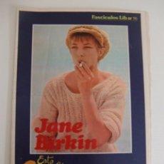 Magazines: SUPLEMENTO ESTA ES MI VIDA / REVISTA EROTICA LIB Nº 16 / JANE BIRKIN. Lote 55101403