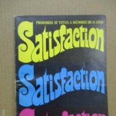 Revistas: REVISTA ERÓTICA SATISFACTION. Lote 56089916