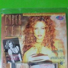 Revistas: 1ª COLECCIÓN APARECIDA ORIGINAL CYBERSEX REVISTA + CD ROM EN BLISTER SIN ESTRENAR NºS 1 A 7 Y EXTRA. Lote 57140154