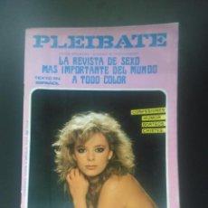 Revistas: REVISTA PORNO VINTAGE - 1986 - PLEIBATE Nº 19 - 96 PÁG COLOR - SÓLO PARA ADULTOS. Lote 57591228