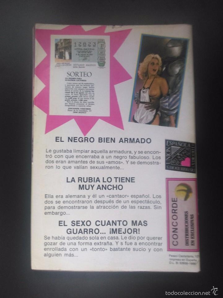 Revistas: REVISTA PORNO VINTAGE - 1986 - PLEIBATE Nº 19 - 96 PÁG COLOR - SÓLO PARA ADULTOS - Foto 2 - 57591228